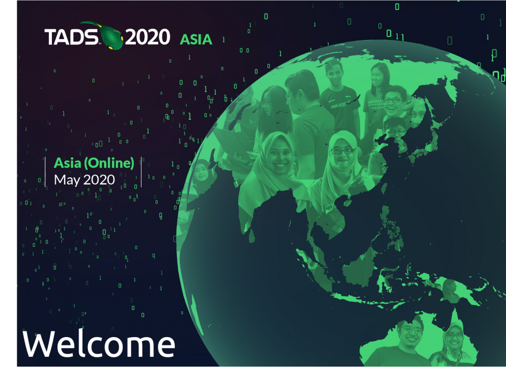 Welcome TADSummit Asia 2020